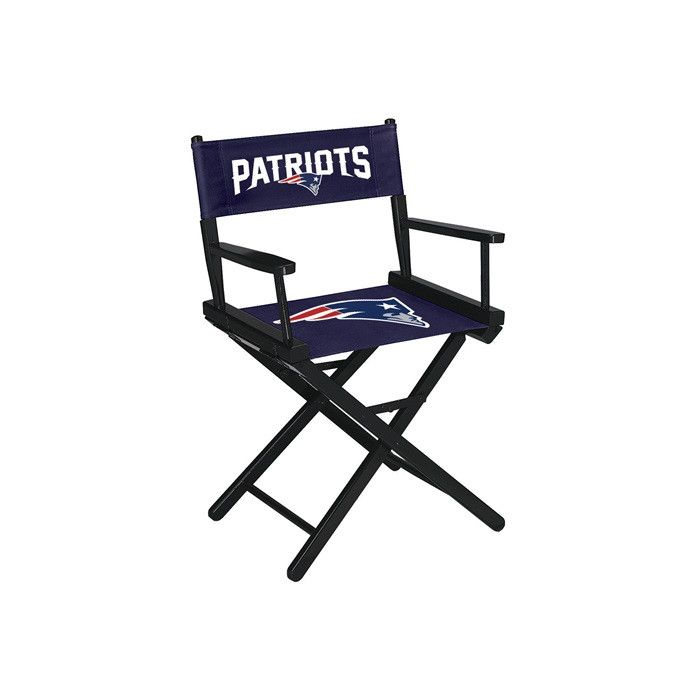 Use this Exclusive coupon code: PINFIVE to receive an additional 5% off the New England Patriots NFL Table Height Director Chair at SportsFansPlus.com