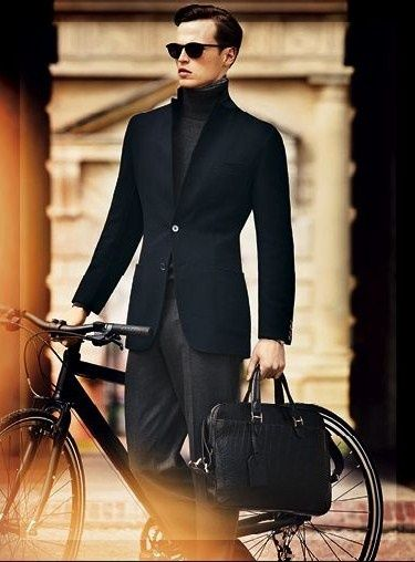 Men's Style on Bicycles