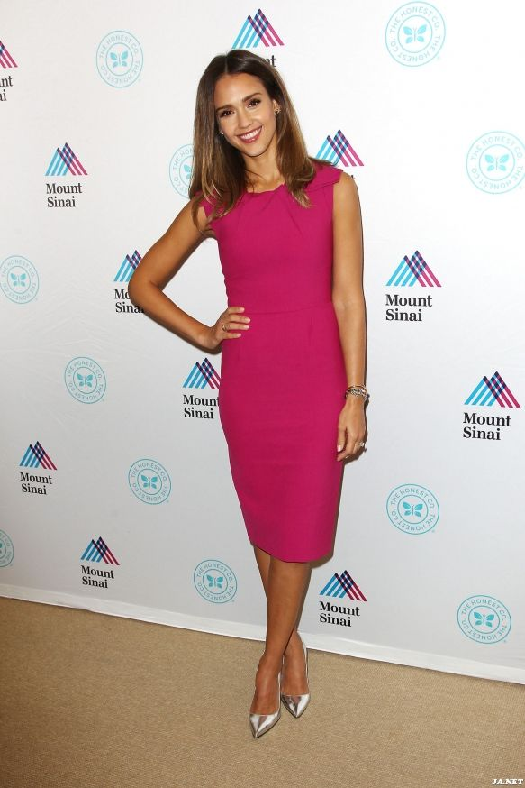 2014 > At the unveiling of The Honest Company ultra clean room at the Mount Sinai Hospital