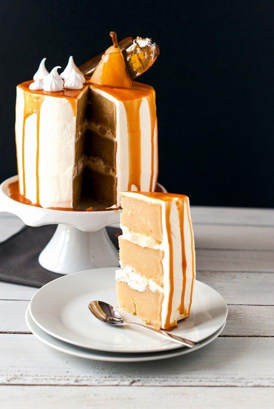 Lilie Bakery | Layer Cake Poire Caramel