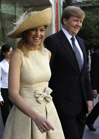 Princess Máxima, April 1, 2006