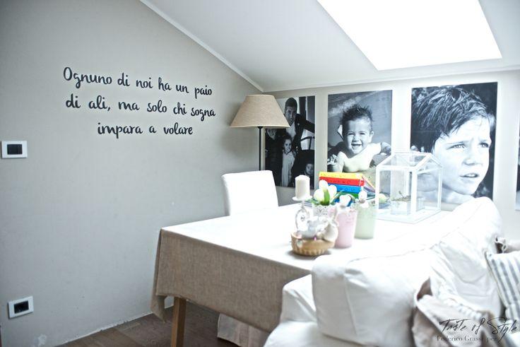 "A casa di Valentina, la creatrice di ""Tintacorda"""