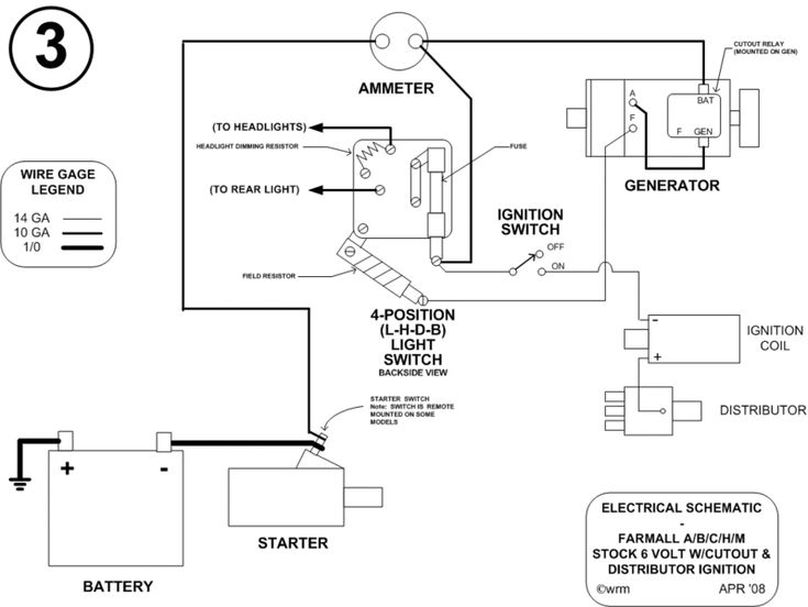 farmall tractor wiring for older 8 - generator/regulator troubleshooting chart photo: this ... super a farmall tractor wiring diagram