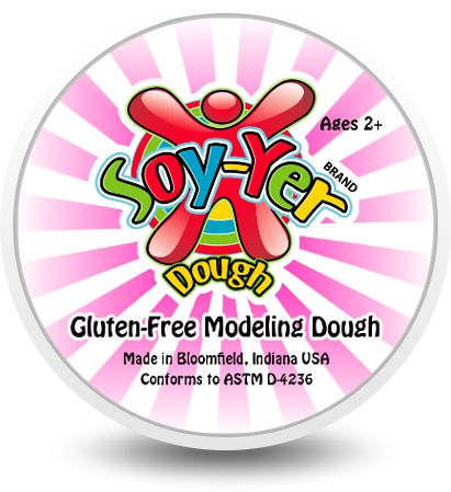 Soy-Yer Dough | Gluten-Free Modeling Dough