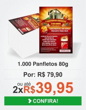Imprima panfletos com o Melhor Preço. Até 12x nos cartões. Acesse Agora! www.webgrafbrasil.com.br