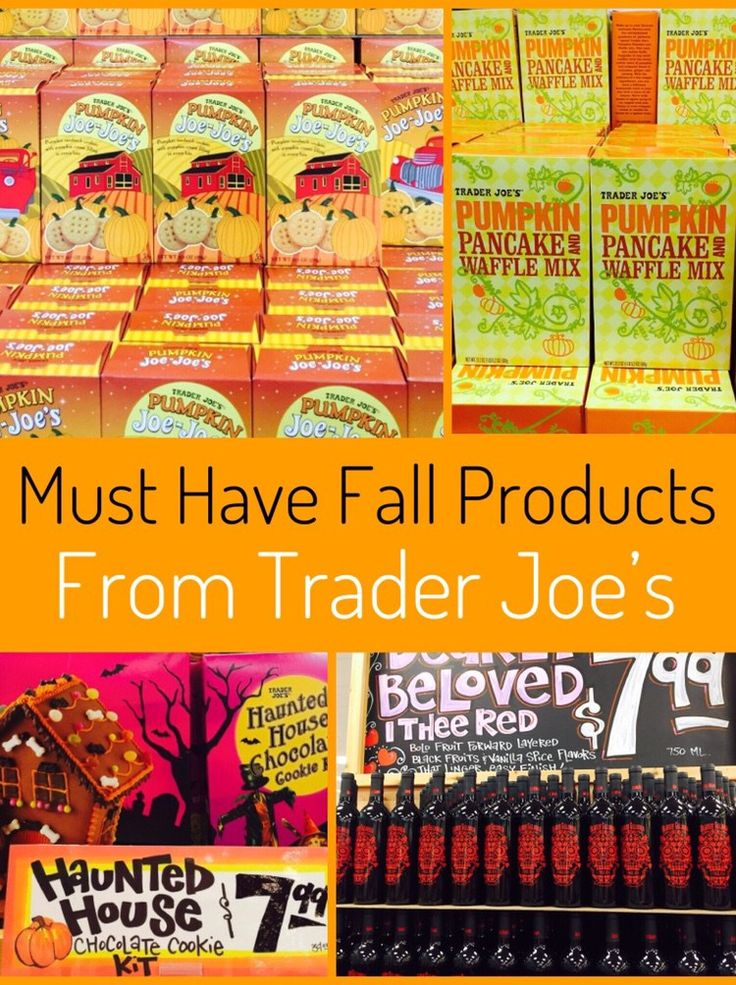 Fall Favorites from Trader Joe's Trader joes, Best