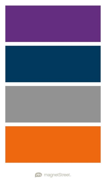 plum navy classic gray and orange wedding color palette. Black Bedroom Furniture Sets. Home Design Ideas