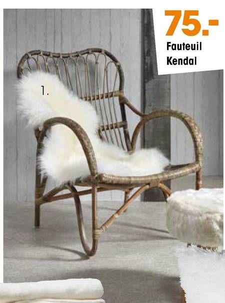 fauteuil kendal folder aanbieding bij Kwantum