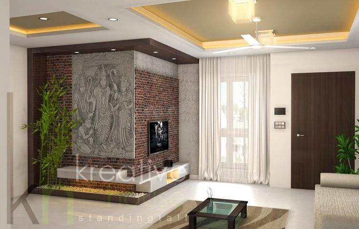 Top design of the creative living room in studio