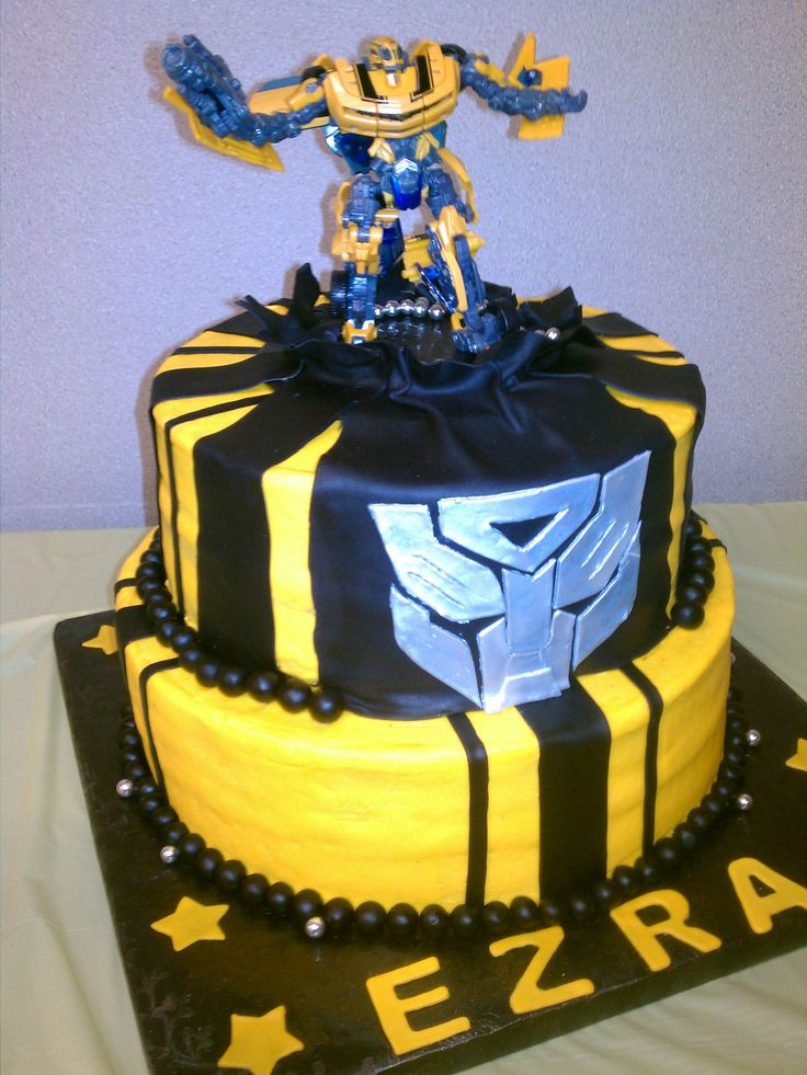 Transformer cake recipes