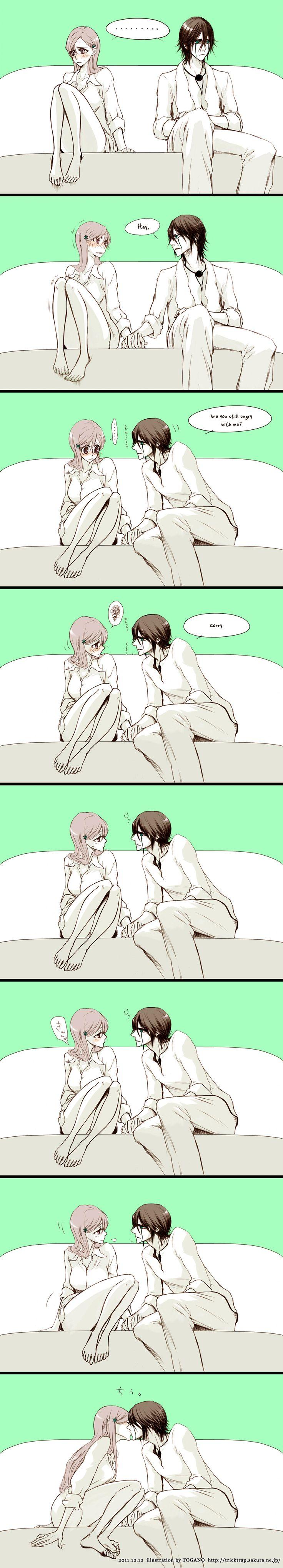 Although I've always shipped the pair Ichihime, this enlightened me <3 Rukia feel free to take Ichigo xD