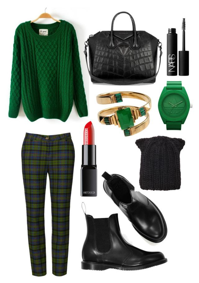 Forest Calls Me by tymarahshand on Polyvore featuring polyvore, fashion, style, Givenchy, Emilio Pucci, adidas, Eugenia Kim, NARS Cosmetics and clothing