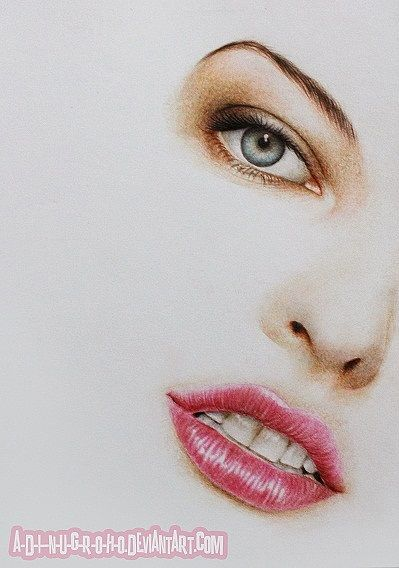 Realistic Pencil Portraits by Adi Nugroho I Don't know for sure but she looks like  Milla Jovovich.