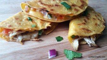 mini street taco quesadillas