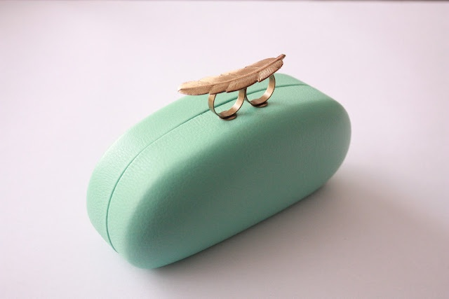 Easy way to refashion old glasses case