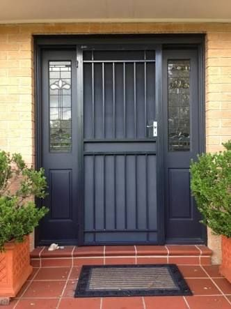 13 best security grills images on Pinterest | Entrance doors ...