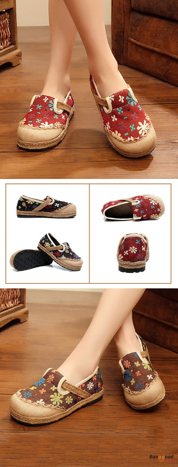 US$23.79+Free shipping. Size(US): 5~9. Upper Material: Cotton Flax. Fall in love with casual and sport style! Summer Sandals, Women Flat Sandals, shoes flats, shoes sandals, Casual, Outdoor, Comfortable.