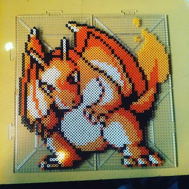 Pokemon perler beads by  8_bit_josh_90