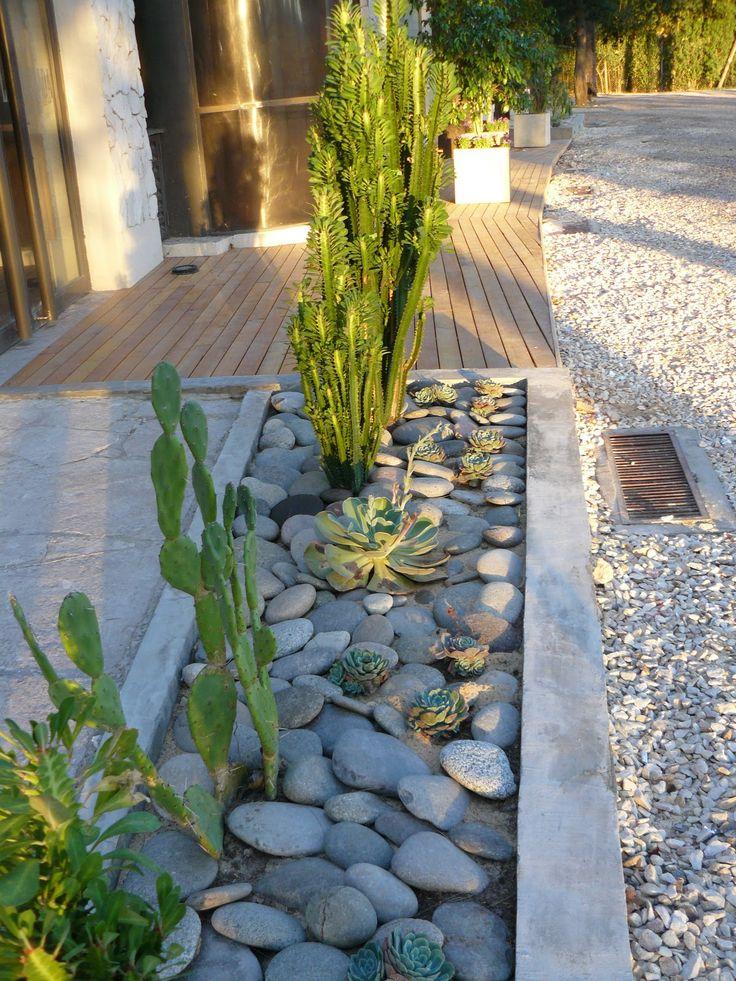 16 mejores im genes de jardines secos con piedras dry for Jardines secos diseno