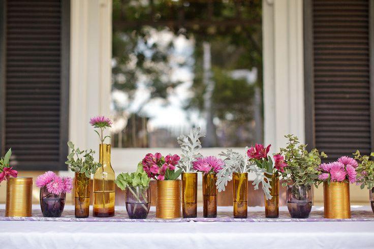 cute flower vases!