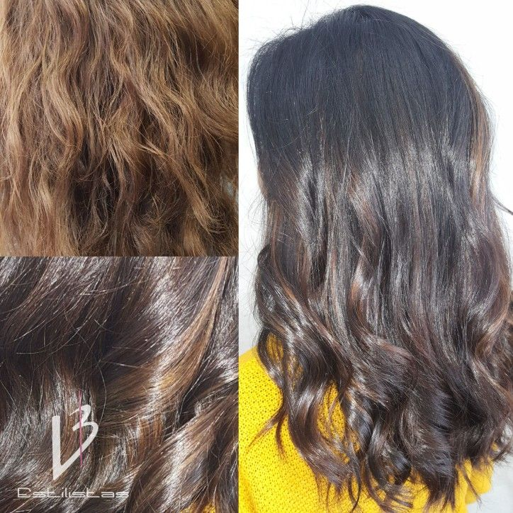 Balayage. Color Eco. Dark - Chocolate - Brown