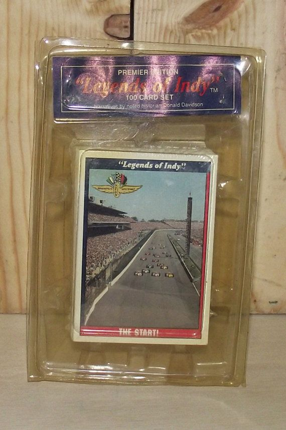 Legends of Indy Collectors Cards by DaytonaVintage on Etsy, $9.95