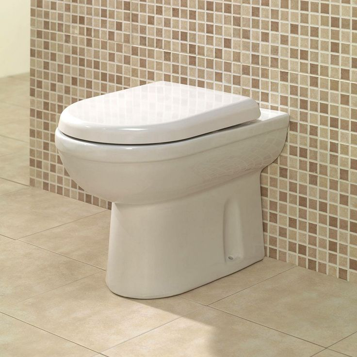 Small Back To Wall Bath Part - 34: Autograph Back To Wall Toilet Exc Toilet Seat - Https://victoriaplum.com