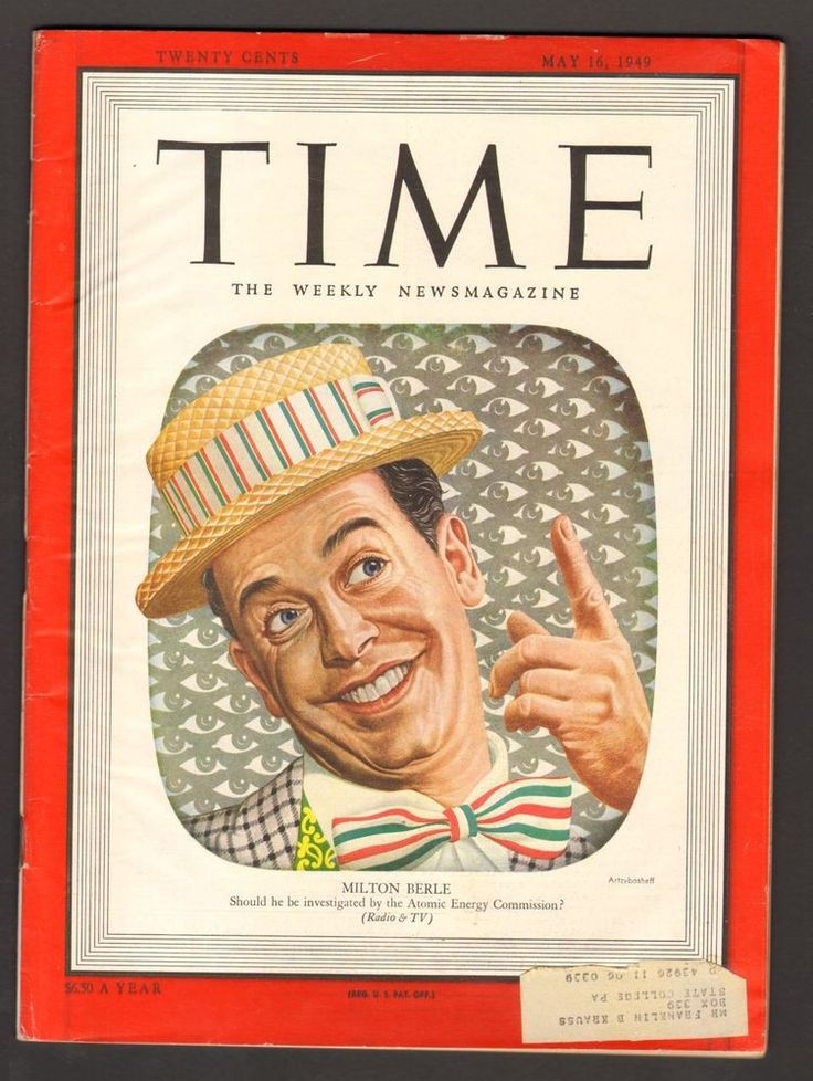 Time Magazine May 16 1949 Milton Berle Should he be investigated Atomic Energy