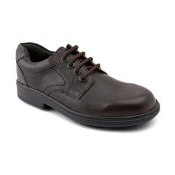 Isaac, Brown Leather Boys Lace-up School Shoes http://www.startriteshoes.com/school-shoes/
