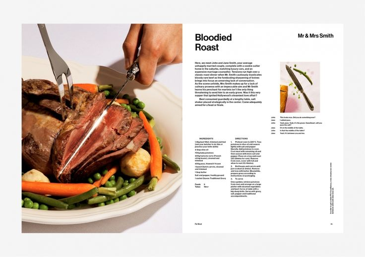 Fat Brad The Cookbook 2016 Published by Long Prawn, Creative Direction by PSP…
