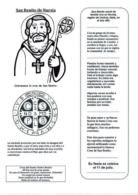 El Rincón de las Melli: Santos (Benito)