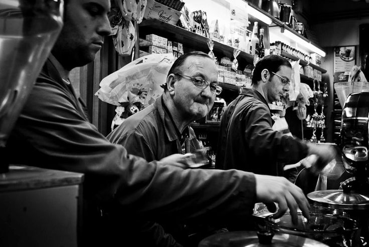 Absolutely the best coffee shop in Palermo! They roast the coffee there! Photo by Ewa Morawska.