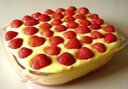 Ricette light: tiramisù leggero alle fragole / Light Recipes: Tiramisu with strawberries