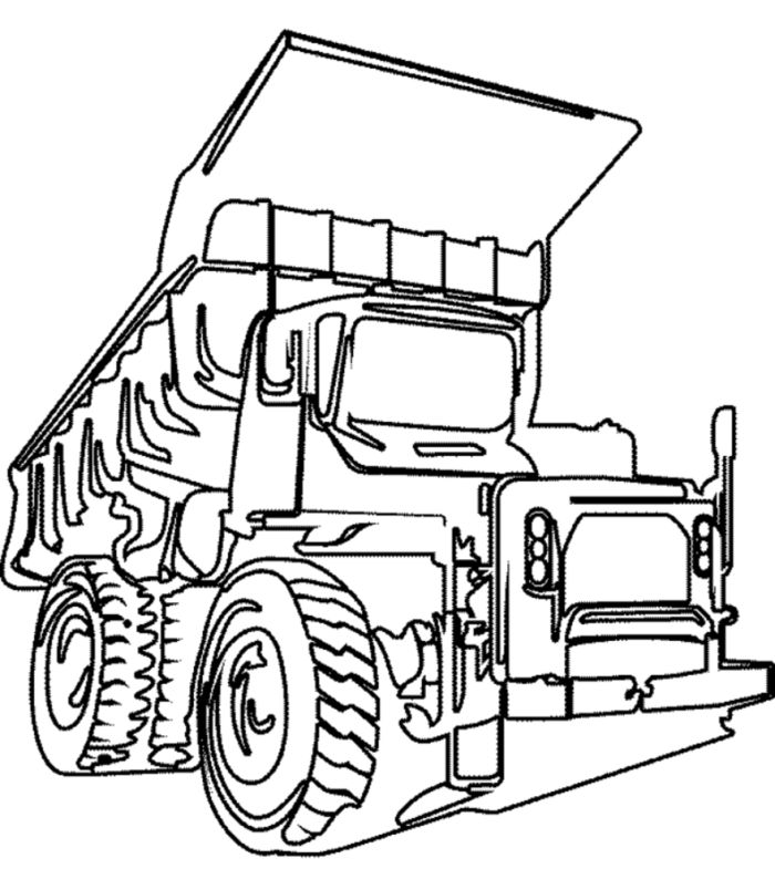 Dump Truck Truck Cars Coloring Pages Truck Coloring