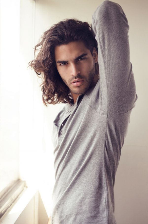 Mario Blanco - long hair and rocking the whole mean 'n' moody look