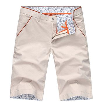 Toptrek Clothing Summer Style Men Casual Cotton Short Pant Outside Trousers Many Color Optional Pantalones Hombre 2016