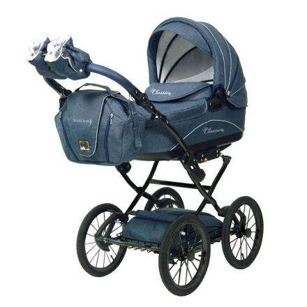 Knorr Baby Classico Kinderwagen Marine