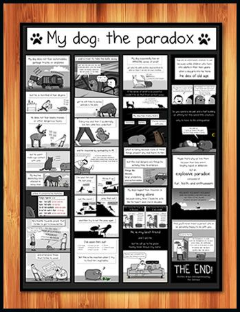 dog paradox poster by the Oatmeal: Dogs, Dog Paradox, Comic, Dog The Paradox, The Oatmeal, Paradox Poster