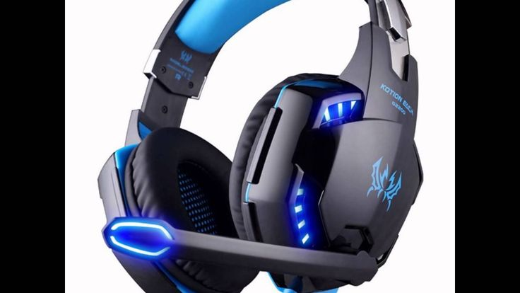 Headset Gaming For PC EasySMX With Mic (Blue)
