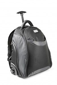 Monaco Laptop Trolley Backpack. #trolleybackpack #laptopbag #backpack