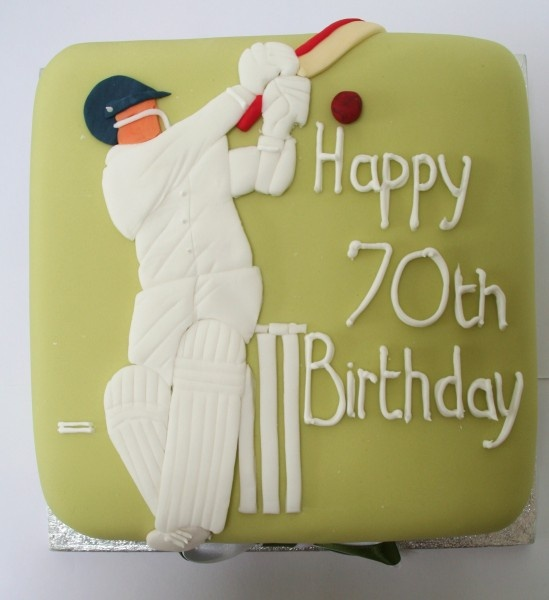 cricket cake for dad??