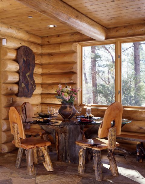 17 best images about dining areas on pinterest cabin for Log cabin financing