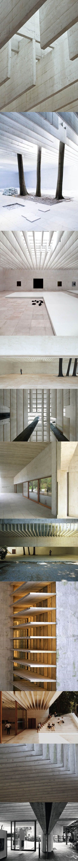 1962 Sverre Fehn - Nordic Pavilion Venice Biënnale / Italy / Norway / concrete / white