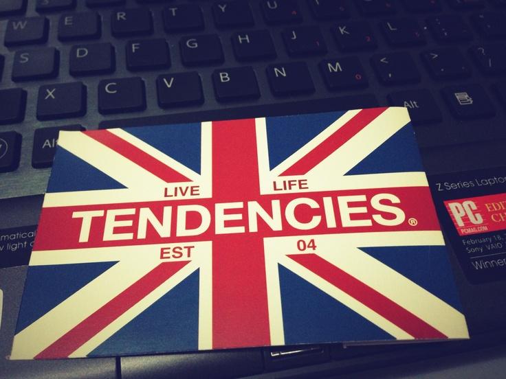 Union Jack 10dencies sticker