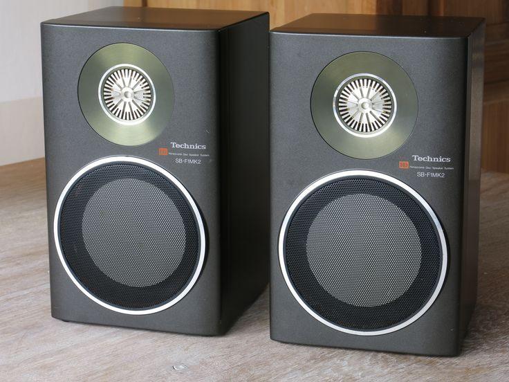 Pair of Vintage High Quality TECHNICS SB-F1MK2 Loudspeakers | Retro/Vintage/Design | Pinterest ...