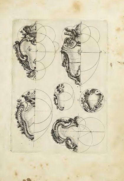 Rococo fundamental form - pebble shapes