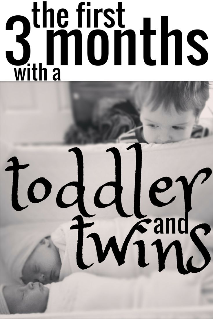 The First 3 months with a Toddler and Twins | Marie Osborne Months 1-3 with my #toddler and #newborn #twins.