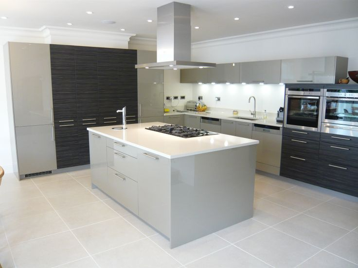 Gloss Champagne And Black Pine By Hacker At The Kitchen Company, Uxbridge |  Colour Mixes For Kitchens | Pinterest | Pine, Kitchens And House
