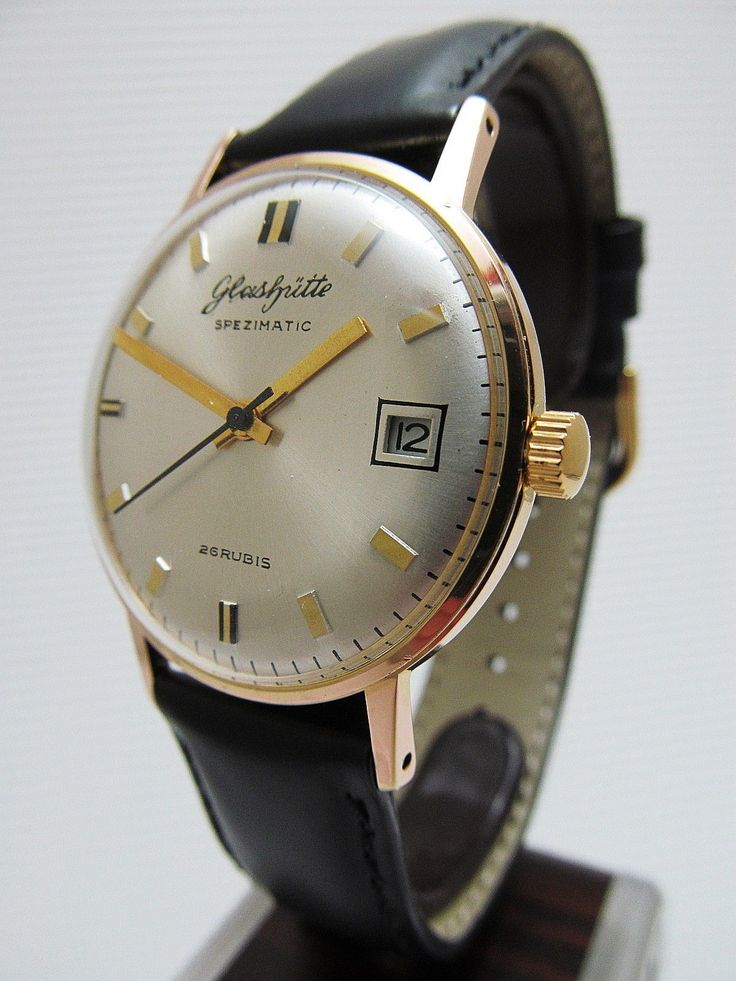GLASHÜTTE Spezimatic UM 1975. Nothing beats a classic.