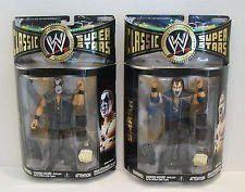 Wwe Classic Wrestling Superstars Ax and Smash Sealed Action Figures Jakks